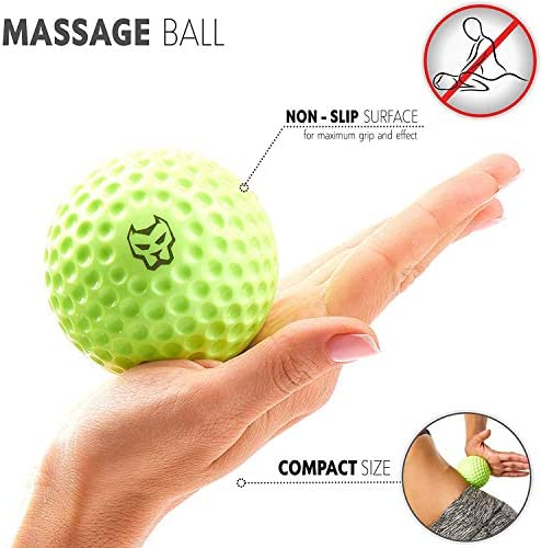 KONUNGR Workout Set for Home Fitness on Quarantine - Pull Up Band - Massage Ball - Sport Towel - Jump Rope - Stay at Home & Get Fit During Isolation 4