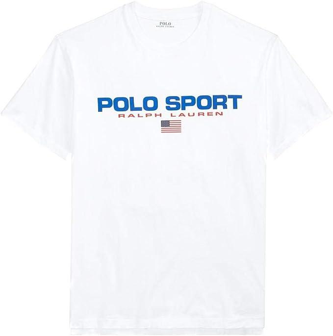 Camiseta Ralph Lauren Polo Sport Blanco Hombre: Amazon.es: Ropa y ...