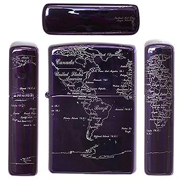 zippo limited world map 24747