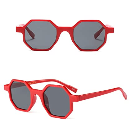 fa60411a46a Image Unavailable. Image not available for. Color  NNDA CO Small Octagon Sunglasses  Women Brand Designer