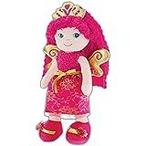 GirlznDollz Leila Fairy Princess Baby Doll Pink, Hot Pink, Gold