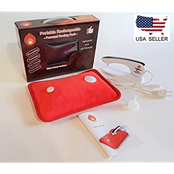 Rechargeable Portable Heat Pad/Pack Soft Red