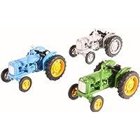 Fordson Tractor 3 Piece Set - Blue /