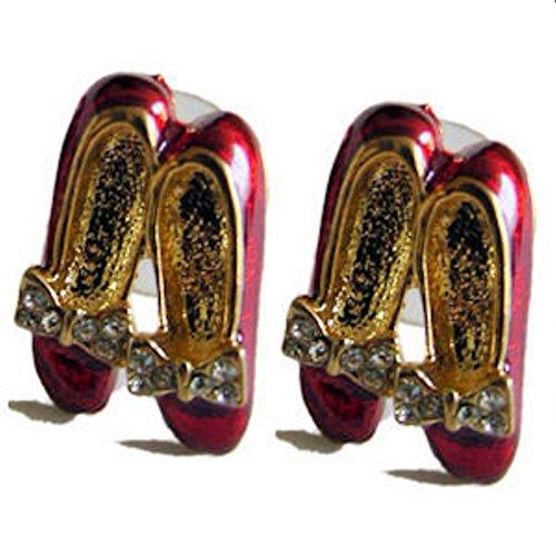 Gay Rainbow Sisters Ruby Slipper Earrings ()