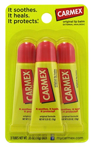 Carmex Original Flavor Moisturizing Lip Balm Tube Value Pack