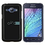 Smartphone Protective Case Slim PC Hard Cover Case for Samsung Galaxy J1 J100 / CECELL Phone case / / Motorcycle Tron /