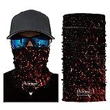 LiPing Microfiber Premium Sunscreen Cycling Motorcycle Head Scarf Neck Warmer Face Mask Ski Balaclava Headband Powerful UV-blocking Spf (J)