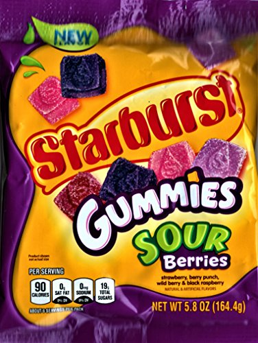 Sour Berry (Starburst Gummies Sour Berries Candy, 5.8 ounce)