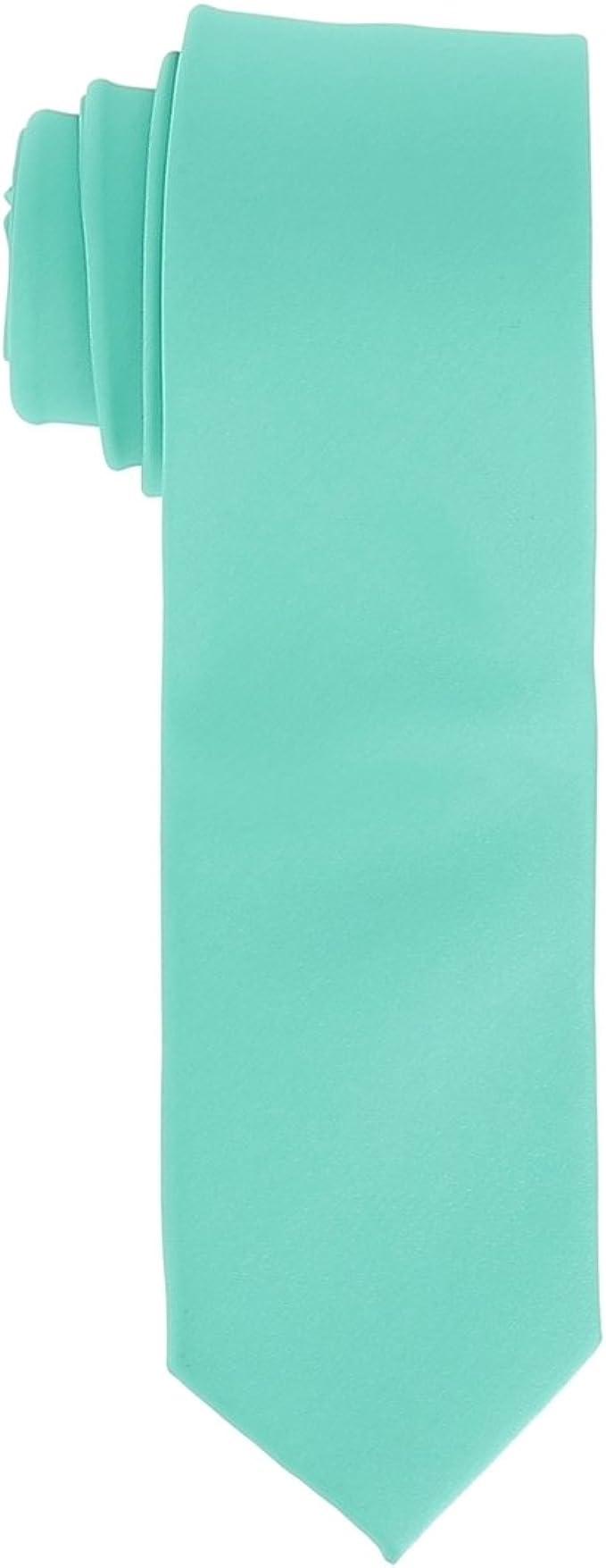cravateSlim - Corbata - para hombre Verde verde aguamarina Talla ...
