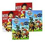 Paw Patrol Portfolio Folders with Pockets and 3-Ring Binder Holes, 4-Pack