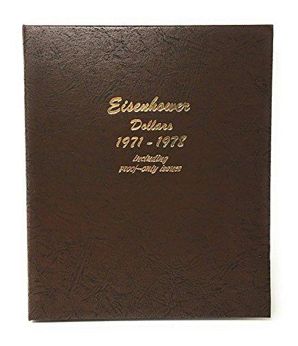 - Dansco US Eisenhower Dollar Coin Album 1971 - 1978 with Proof #8176