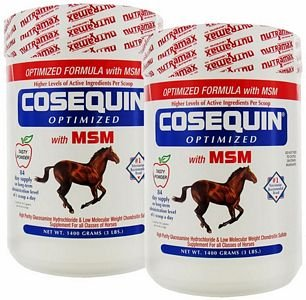 2 PACK Cosequin Equine OPTIMIZED with MSM (2800 gm) by Cosequin