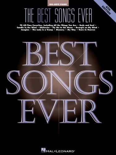 The best songs ever songbook big note piano kindle edition by the best songs ever songbook big note piano by hal leonard corporation fandeluxe Gallery