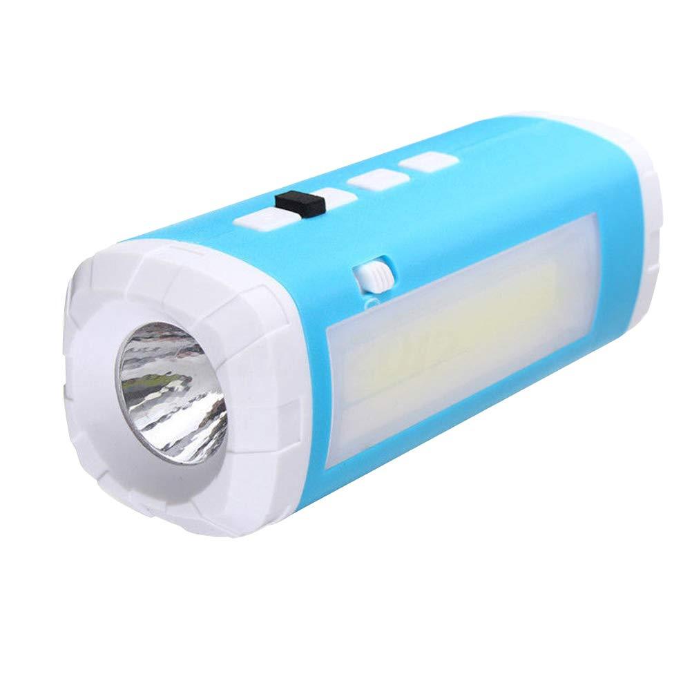 UONLYTECH Support de Lampe de Travail Tactique à énergie Solaire avec Support magnétique avec lumières de Camping Musicales à LED pour Bluetooth