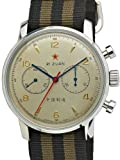 Seagull 1963 Hand Wind Mechanical Chronograph with White Dial 6488-2901C