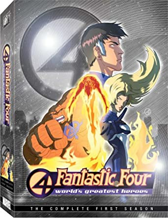 Fantastic Four: Worlds Greatest Heroes - First Reino Unido ...