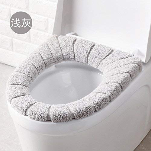 Toilet Cushion Toilet Cushion Patterns of Bathmats Toilet Mat Three Piece Bathroom Mat,E