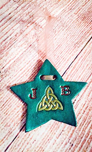 Celtic Triquetra Christmas Star Personalized Leather (Celtic Halloween Stories)