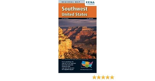 Southwest United States: Hema Maps: 9781934006795: Amazon.com: Books