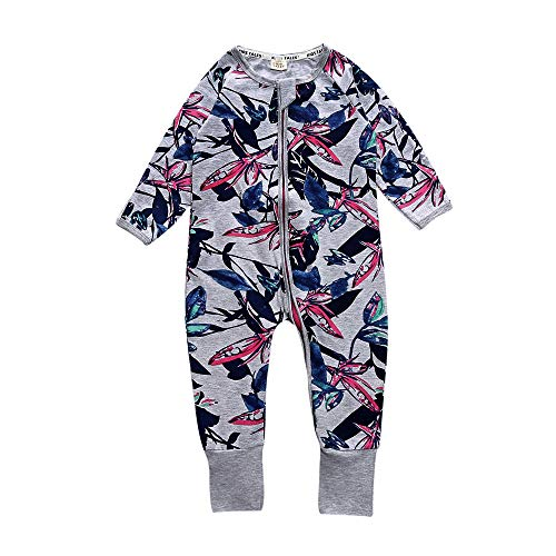 Kids Tales Baby Girl Newborn Iris Footed Handed Pajama Sleeper Cotton (Size 4-24Month)