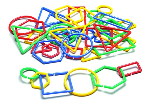Advantage Toy (Learning Advantage 7115 Attribute Shape 'N Links (Pack of 40))