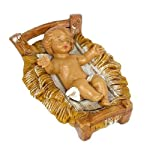"""Fontanini 2.75"""" Long Baby Jesus Religious Christmas Nativity Figurine (Part of 5"""" Collection)"""