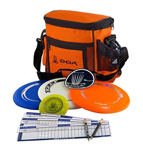 DGA Disc Golf Starter Set, Black