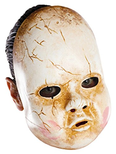 Zombie Baby Doll Face Mask Creepy Scary Halloween Costume Pretty Little Liars ()