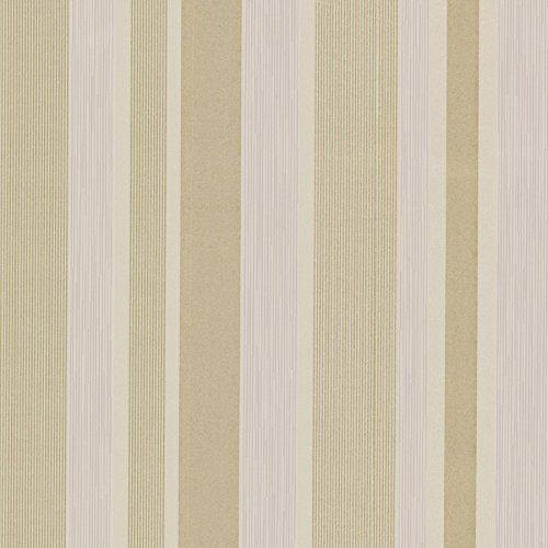 Beacon House 493-ITB034 Amira Horizontal Multi Stripe Wallpaper, Purple