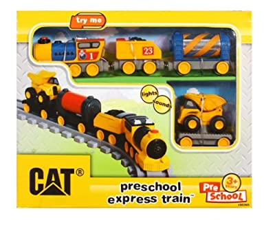 Toystate Caterpillar Preschool Express Train Light And Sound by Toystate