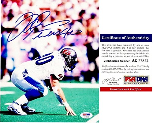 Mike Alstott Nfl - Mike Alstott Autographed Tampa Bay Buccaneers - Tampa Bay Bucs 8x10 PRO BOWL Photo - PSA/DNA Authentic