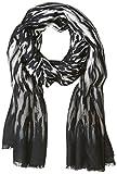 Calvin Klein Women's Animal Printed Pashmina Scarf, Black, One Size
