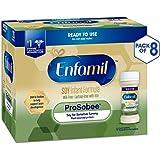 Enfamil ProSobee Soy-Based Infant Formula - Lactose Free for Sensitive Tummies - Ready to Use Nursette Bottles, 2 fl oz (48 count)