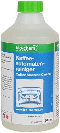 Bio de CHEM Café automáticas limpiador 500 ml Limpiador de sistema ...
