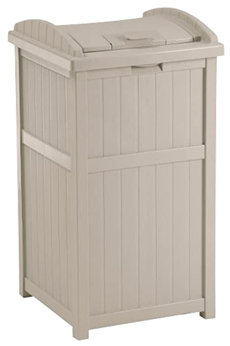Amazoncom Large Capacity 30 Gallon Outdoor Hideaway Wooden Vintage