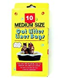 Cat Litter Accessories 10 Piece Cat Litter Bags (Pack Of 72) Pack Of 72 Pcs