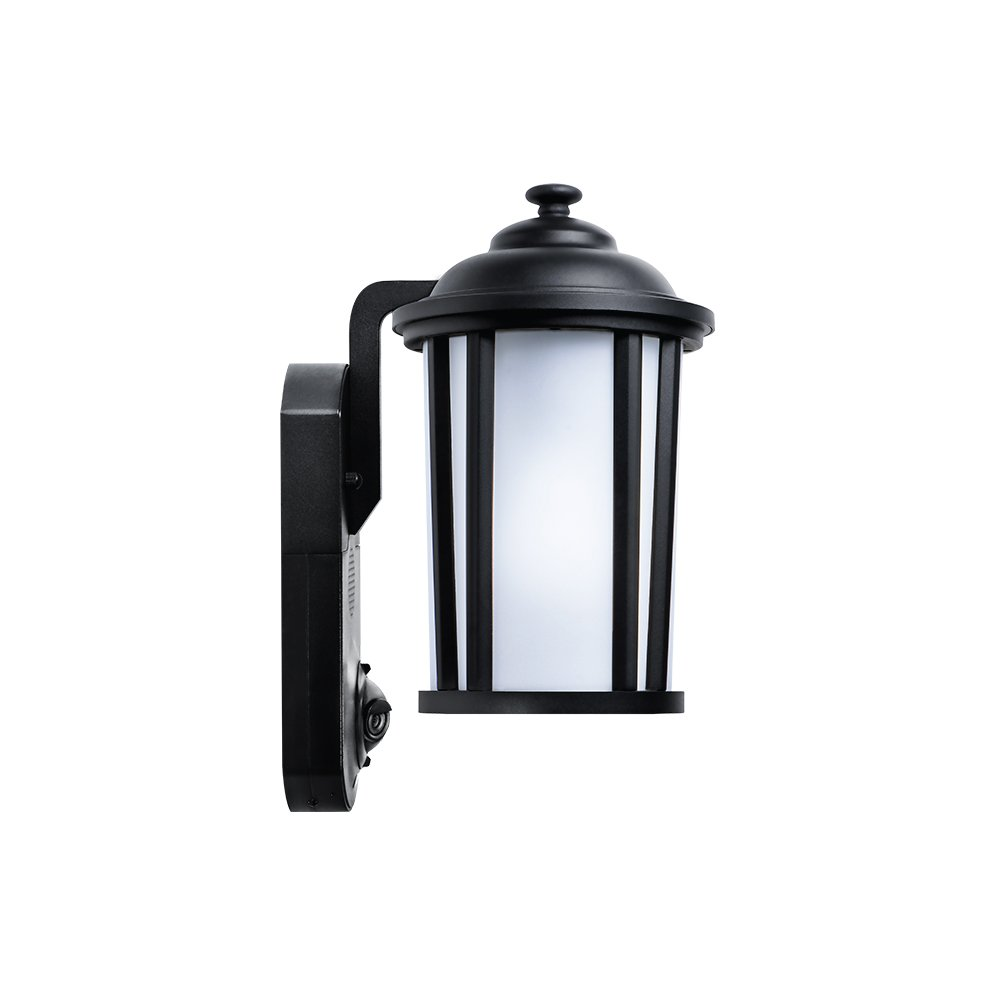 Maximus Video Security Camera & Outdoor Light - Traditional Black - Works with Amazon Alexa by Maximus (Image #2)