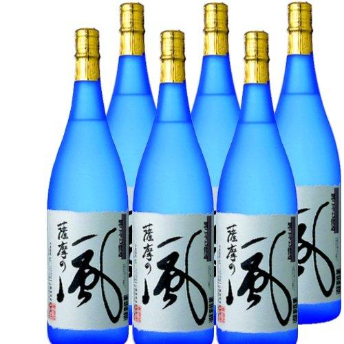 本格芋焼酎 薩摩の風 25度1800ml瓶 1ケース(6本) B00BN5019G