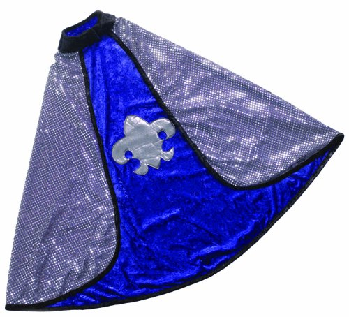 [Great Pretenders Blue Reversible King-Knight Cape (Medium)] (Shining Knight Costumes)