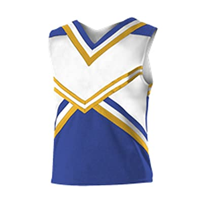 Alleson GIRLS YOUTH CHEER CHEERLEADING HARMONY SHELL TOP C181Y