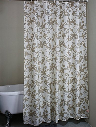 AUTHENTIC ivy leaves Waterproof Fabric Stall Shower
