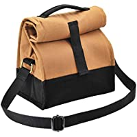 Fatmug Insulated Multipurpose Canvas Lunch Bag for Men and Women