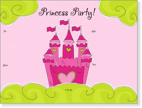 SanLori Designs Mi Castle, Su Castle Invitations - 8 ct