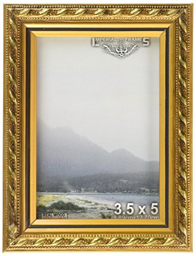Imperial Frames 16 by 20-Inch/20 by 16-Inch Picture/Photo Frame, Thin Fancy Rope Shaped Gold Molding