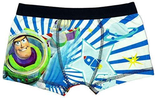 - Toy Story Disney Buzz & Woody Little Boy's 1 Pack Boxer Shorts 5-6 Years