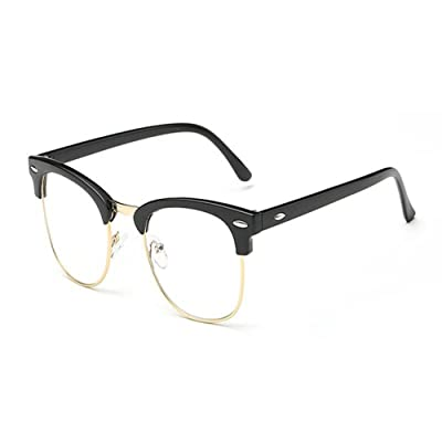 Hzjundasi Lumière bleue Filtre Des lunettes Anti-fatigue Goggle Lentille claire Des lunettes Homme/Femme Lunettes