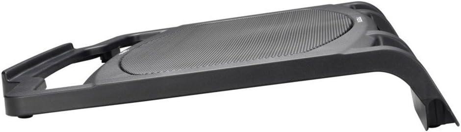 Support de refroidissement pour ordinateur portable 15,4 pouces, ventilateur 140 millim/ètres, ergonomique couleur noire Tacens Opimus