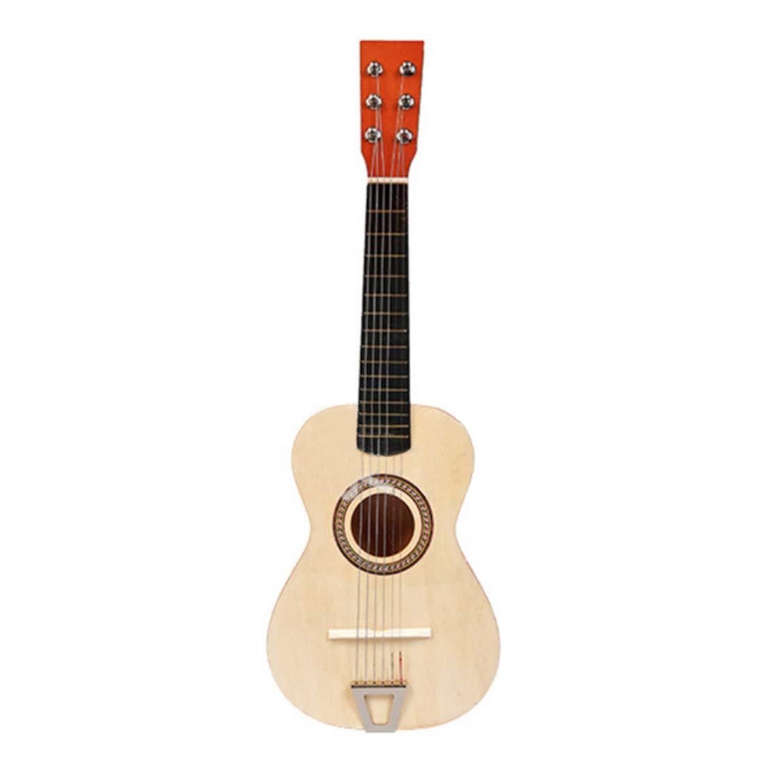 Touchmark Kindergitarre, Beige, Kinder Gitarre aus Holz, 23 inches Konzertgitarre Musikinstrument Starter fü r Kinder ab 3 Jahren