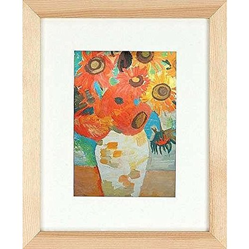 Nielsen Bainbridge Gallery Wood Frames for Canvas 8 in. x 10 in. natural 5 in. x 7 in. ()