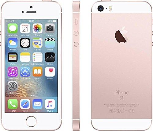 Apple iPhone SE, Verizon, 16GB - Rose Gold (Refurbished)]()